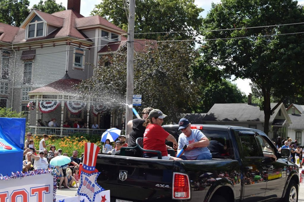 Elgin Township Democrats Fourth of July Parade 2019