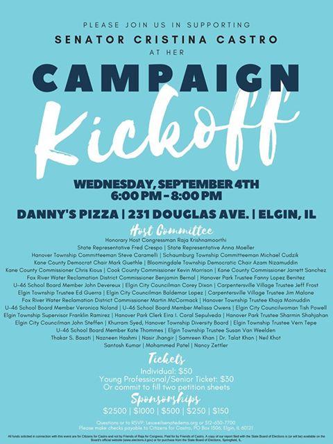 Christina Castro Campaign Kickoff
