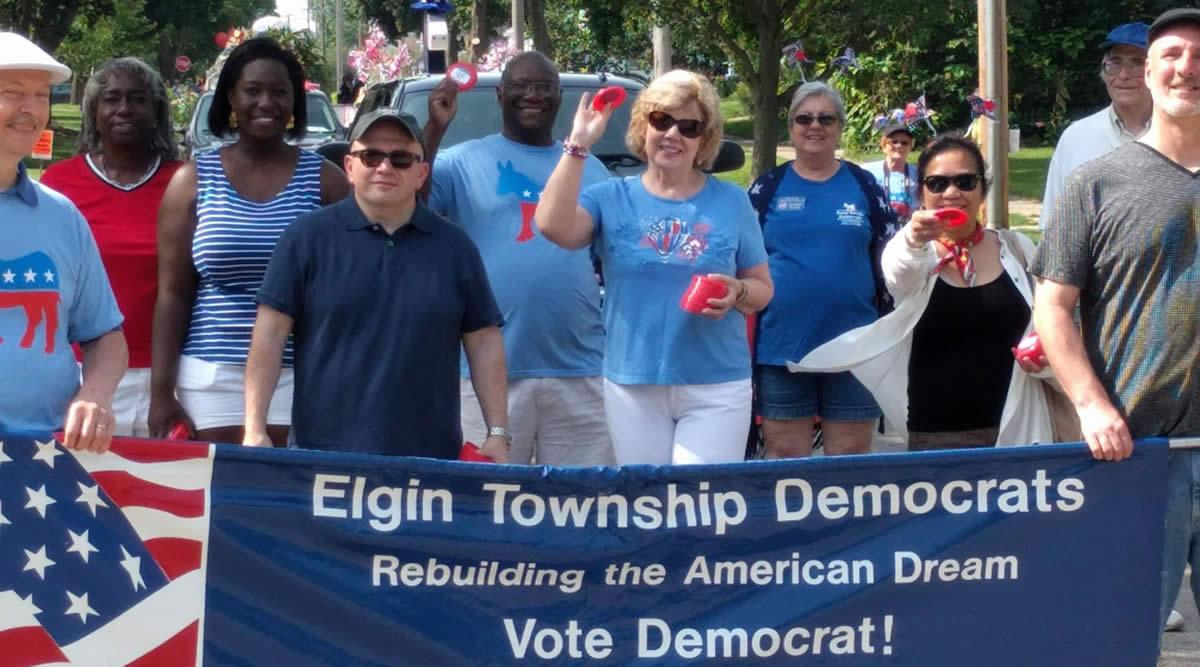 Elgin Township Democrats July 4th Parade