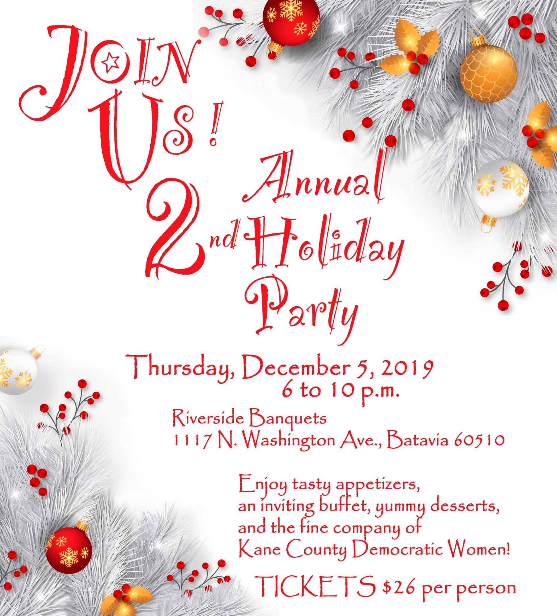 KCDW 2019 Holiday Party