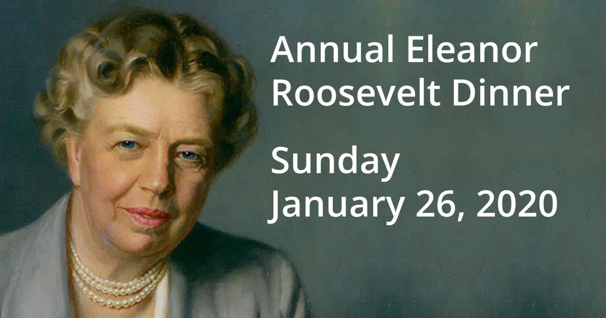 Eleanor Roosevelt - 2020