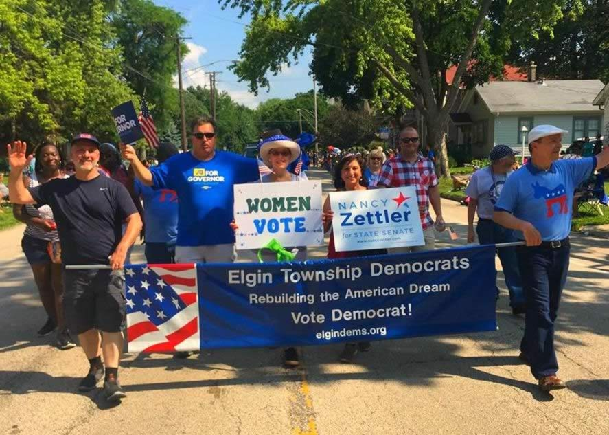Elgin Township Democrats July Parade