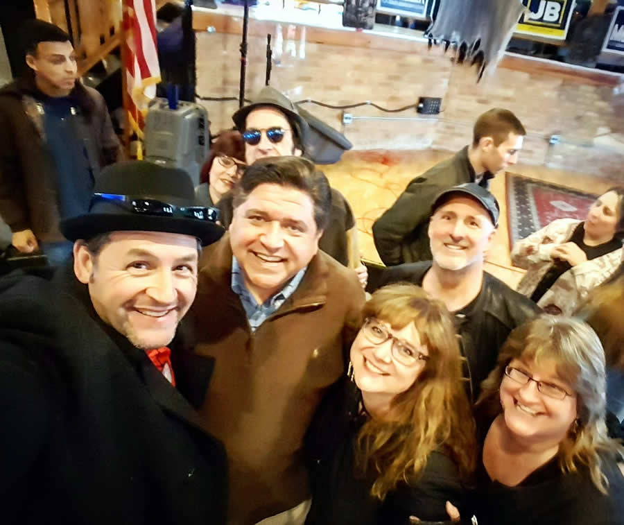 JB Pritzker and the Art Sunday Group