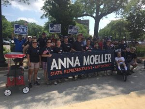 Anna Moeller Team at Parade
