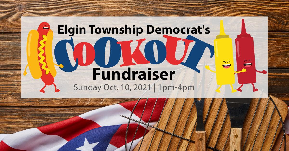 Elgin Township Democrats Cookout