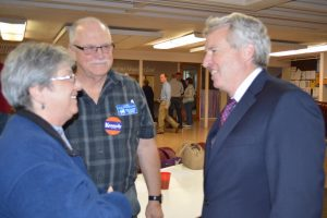 Chris Kennedy at the April 2017 Elgin Dems Meeting