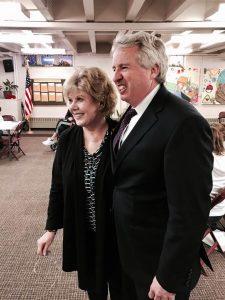 Susan Van Weelden and Chris Kennedy