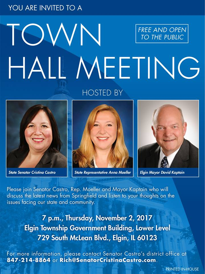 Town Hall Meeting - 11/2/2017