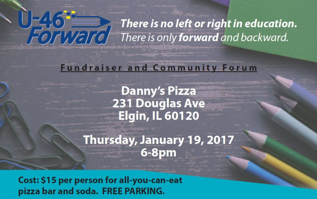 U-46 Forward fundraiser